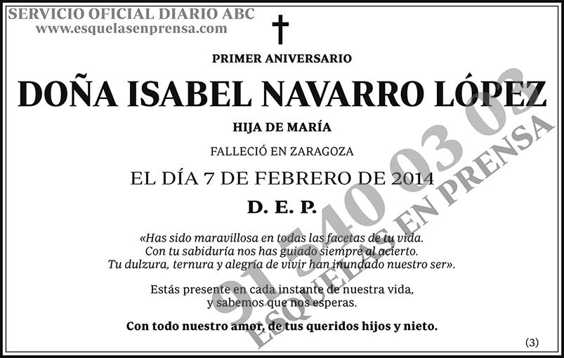 Isabel Navarro López